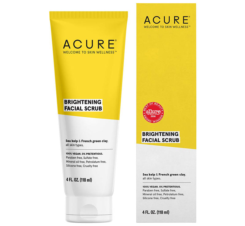 ACURE BRIGHTENING FACIAL SCRUB Glam Raider