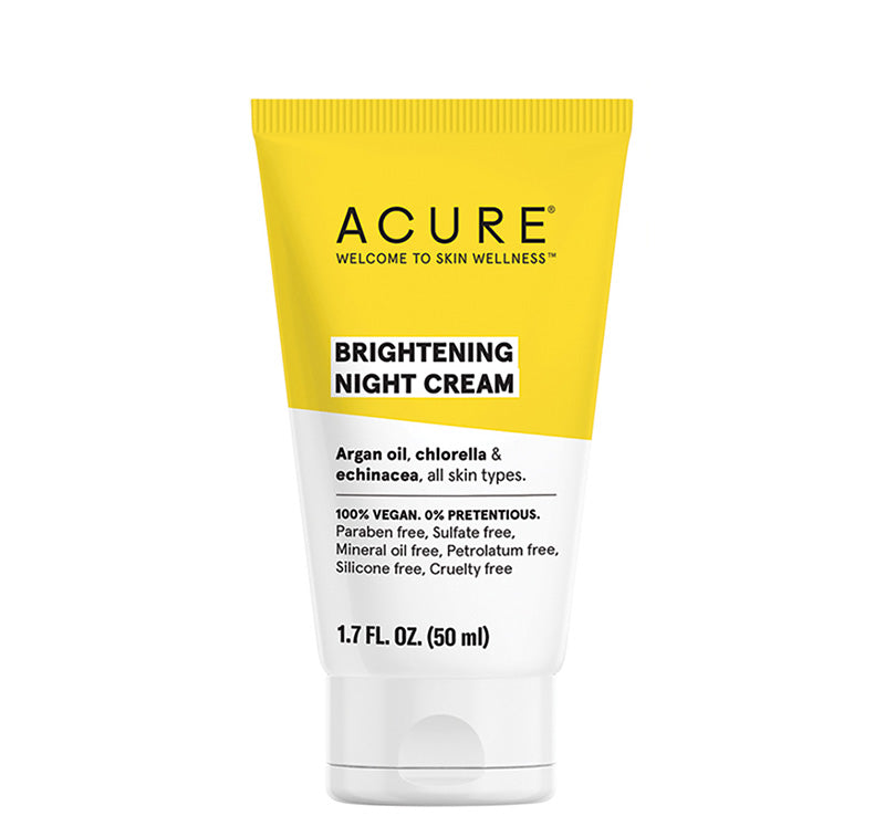 ACURE BRIGHTENING NIGHT CREAM Glam Raider