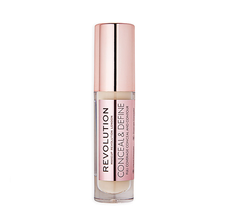 MAKEUP REVOLUTION CONCEAL AND DEFINE CONCEALER - C3 Glam Raider