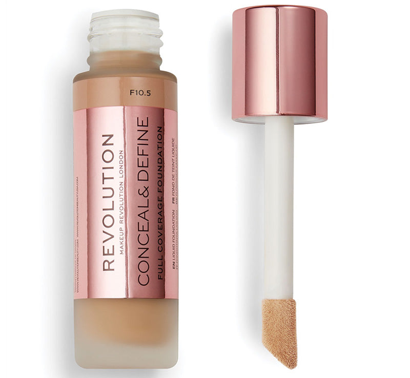 MAKEUP REVOLUTION CONCEAL AND DEFINE FOUNDATION - F10.5 Glam Raider