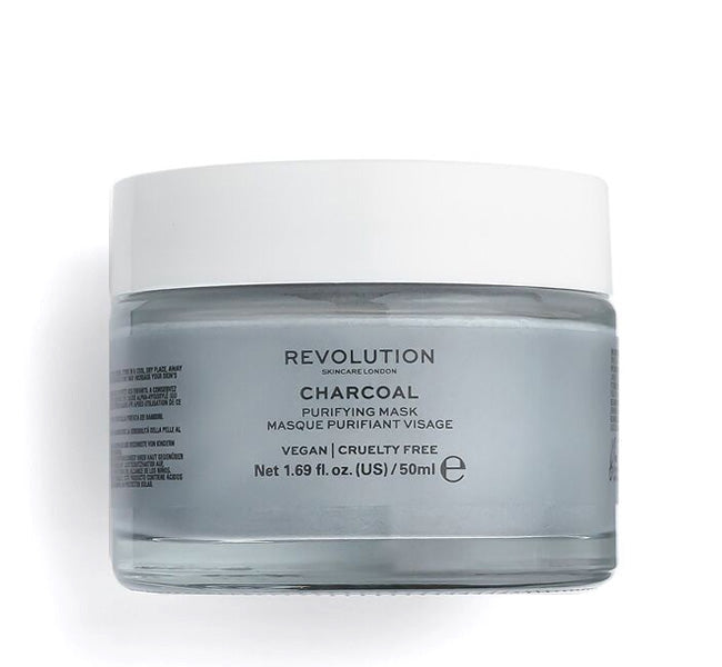 REVOLUTION SKINCARE CHARCOAL PURIFYING MASK Glam Raider
