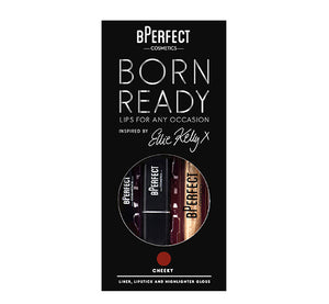 BORN READY LIP KIT BY ELLIE KELLY - CHEEKY
