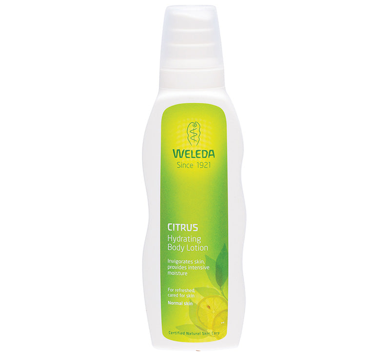 WELEDA CITRUS HYDRATING BODY LOTION Glam Raider
