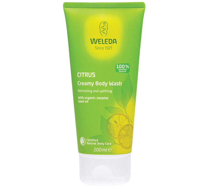 WELEDA CITRUS CREAMY BODY WASH Glam Raider
