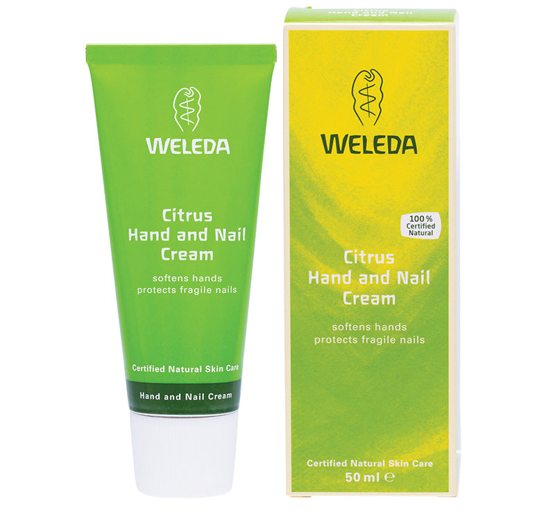 WELEDA CITRUS HAND AND NAIL CREAM Glam Raider