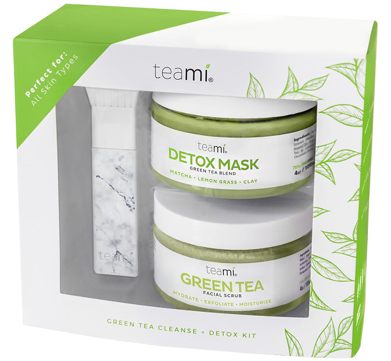 TEAMI GREEN TEA CLEANSE & DETOX KIT Glam Raider