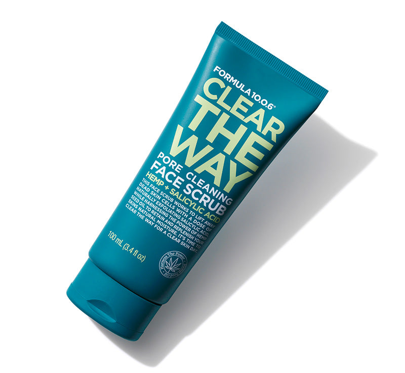 FORMULA 10.0.6 CLEAR THE WAY PORE CLEANING FACE SCRUB Glam Raider
