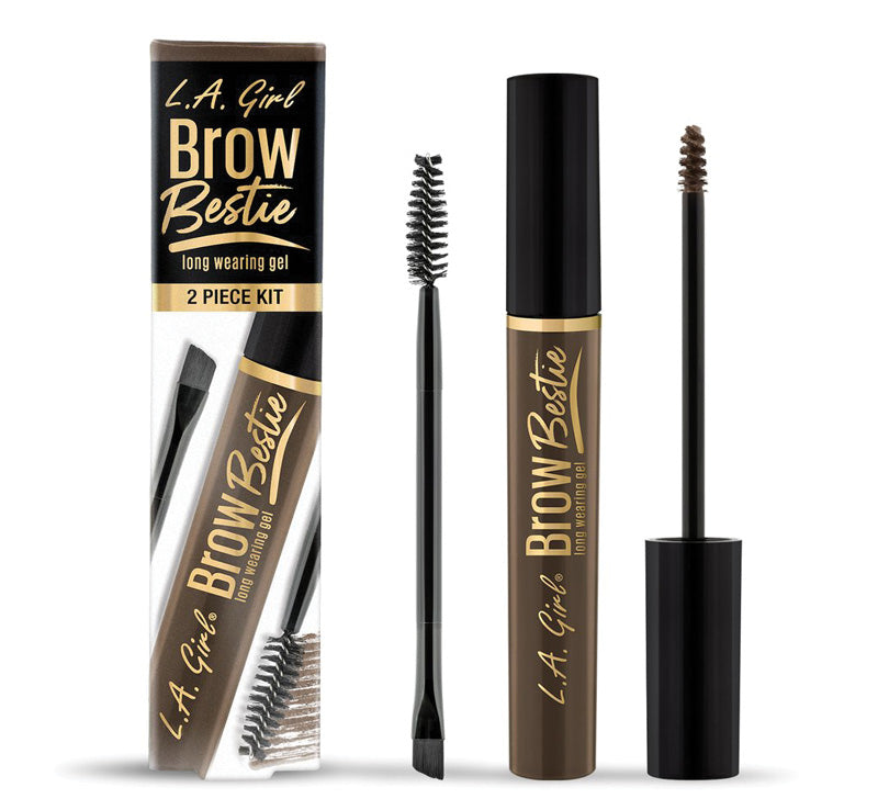 BROW BESTIE LONG WEARING GEL KIT - COOL BROWN