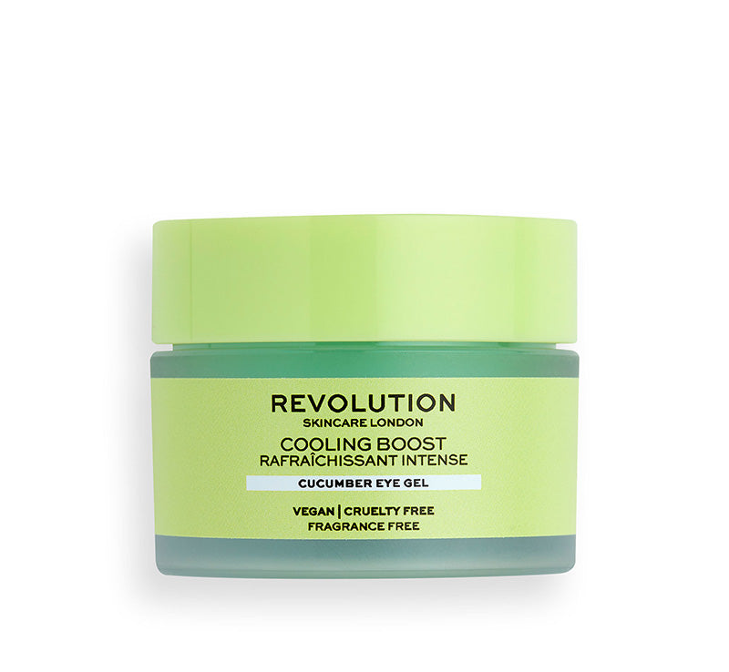 REVOLUTION SKINCARE COOLING BOOST CUCUMBER EYE GEL Glam Raider