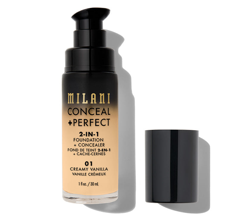CONCEAL + PERFECT 2-IN-1 FOUNDATION - CREAMY VANILLA