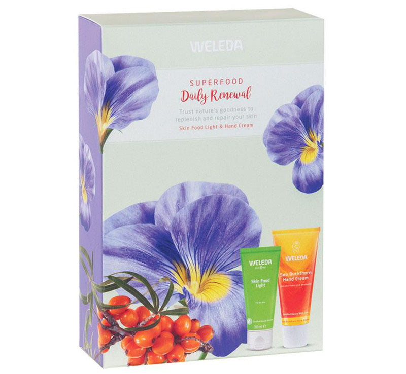 WELEDA SUPERFOOD DAILY RENEWAL PACK Glam Raider