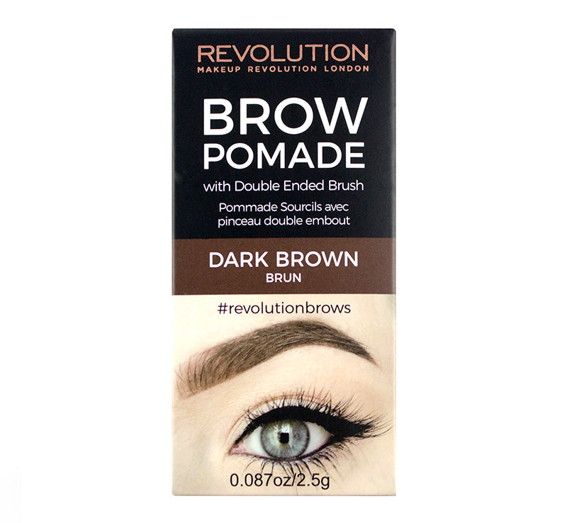 BROW POMADE - DARK BROWN