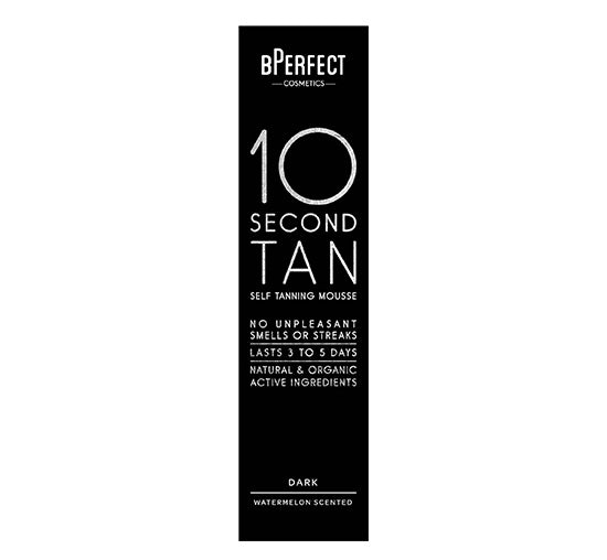 BPERFECT 10 SECOND SELF TANNING MOUSSE - DARK WATERMELON Glam Raider