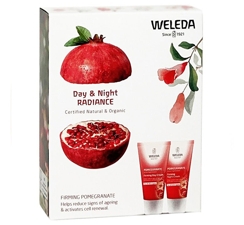 WELEDA POMEGRANATE DAY & NIGHT RADIANCE PACK Glam Raider