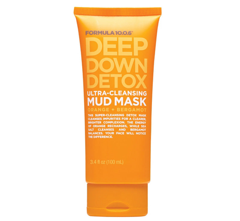 FORMULA 10.0.6 DEEP DOWN DETOX ULTRA-CLEANSING MUD MASK Glam Raider