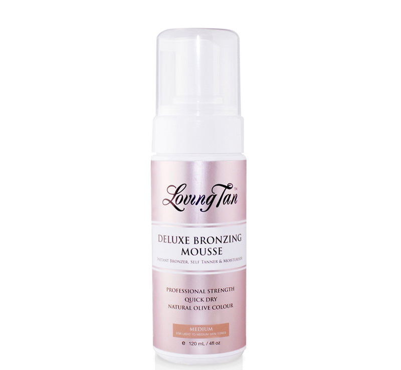 LOVING TAN DELUXE BRONZING MOUSSE - MEDIUM Glam Raider