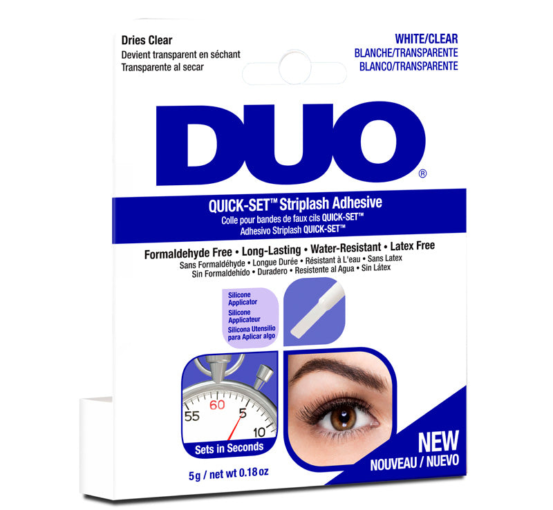 ARDELL DUO QUICK SET STRIPLASH ADHESIVE CLEAR Glam Raider