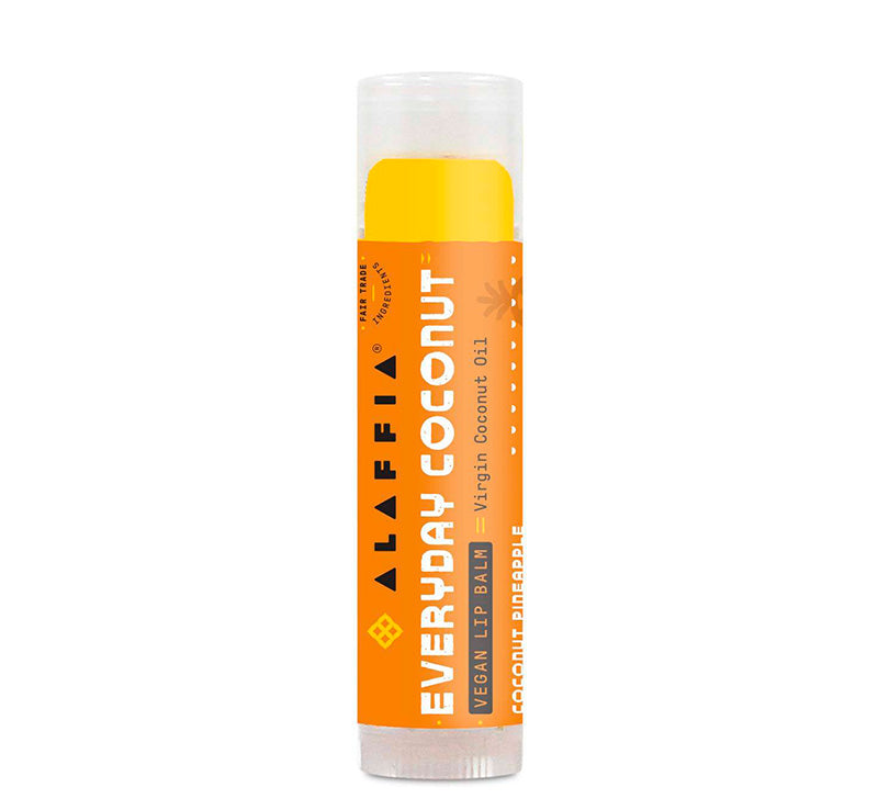 EVERYDAY COCONUT VEGAN LIP BALM - COCONUT PINEAPPLE