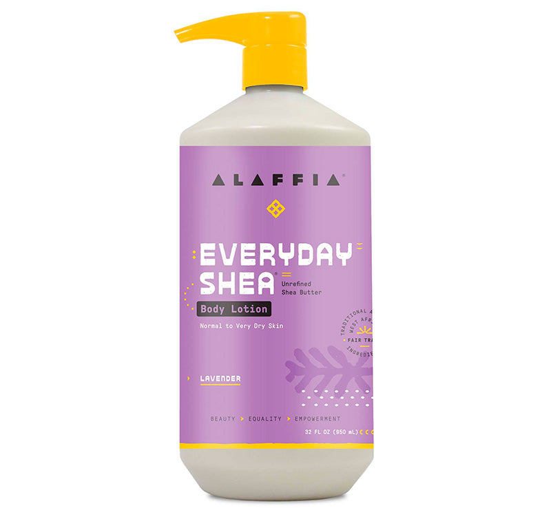EVERYDAY SHEA BODY LOTION - LAVENDER