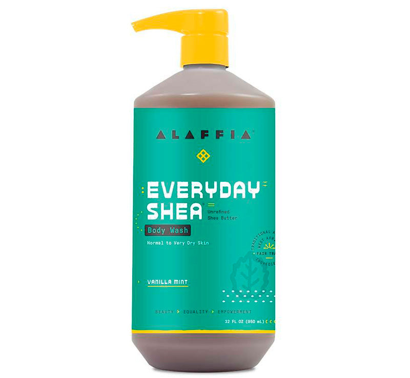 EVERYDAY SHEA BODY WASH - VANILLA MINT