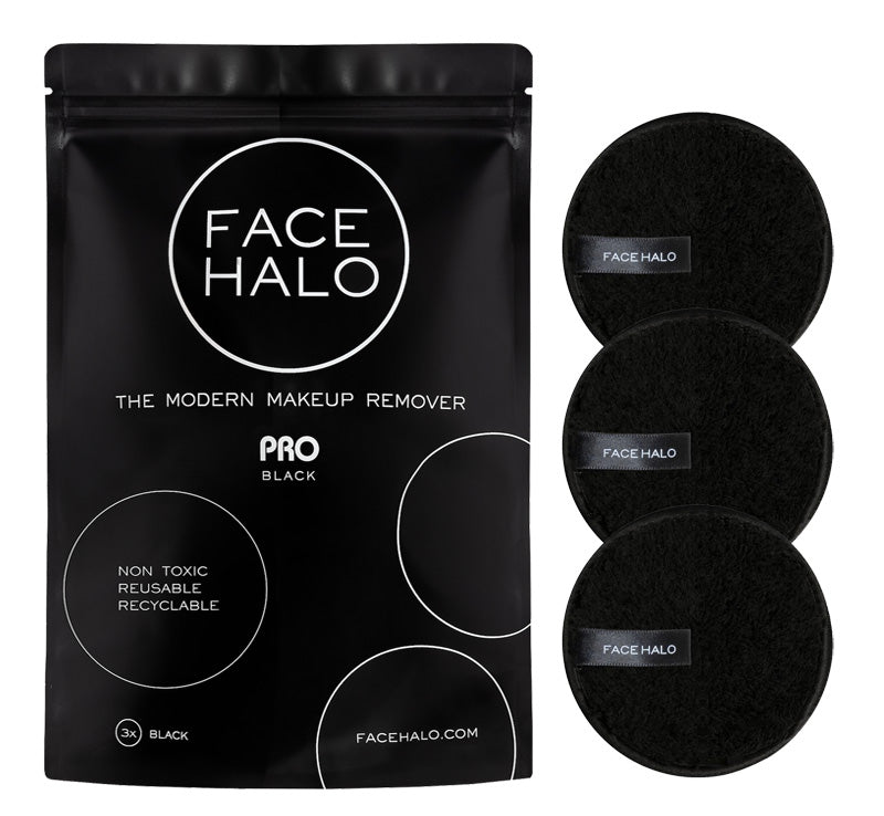 FACE HALO PRO BLACK - MAKEUP REMOVER