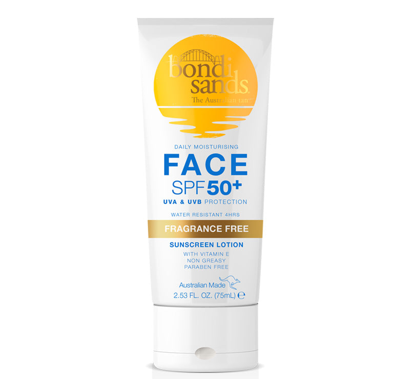 BONDI SANDS DAILY MOISTURISING FACE SPF 50+ SUNSCREEN LOTION - 75ml Glam Raider