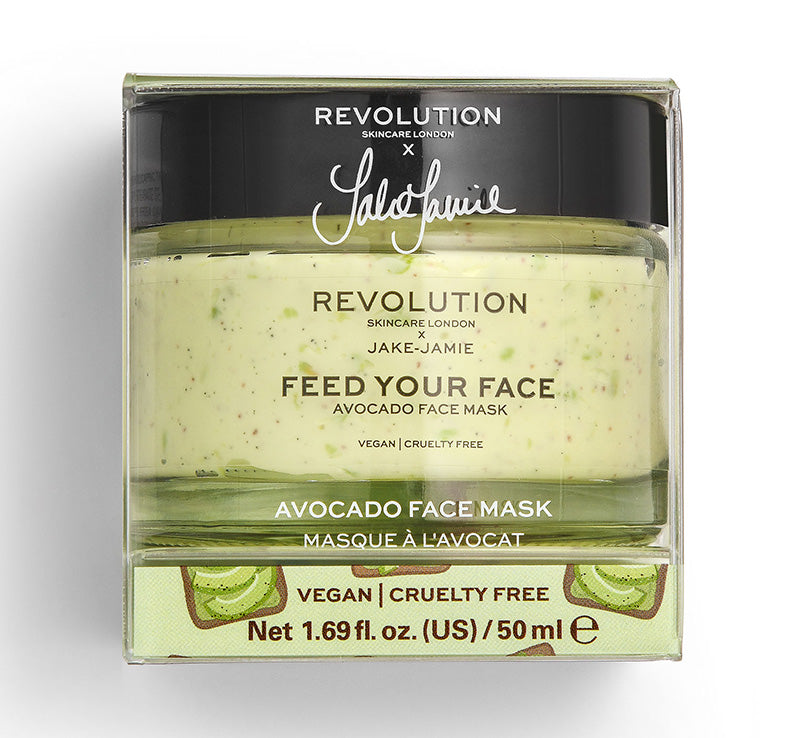REVOLUTION SKINCARE x JAKE JAMIE AVOCADO MASK