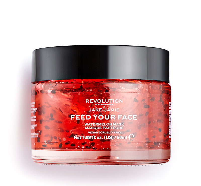 REVOLUTION SKINCARE x JAKE JAMIE WATERMELON HYDRATING MASK