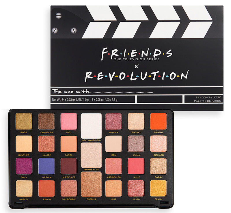 MAKEUP REVOLUTION x FRIENDS FLAWLESS LIMITLESS PALETTE
