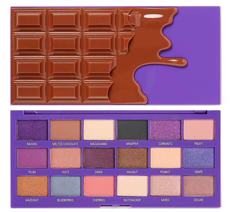 I HEART REVOLUTION FRUIT AND NUT CHOCOLATE PALETTE Glam Raider