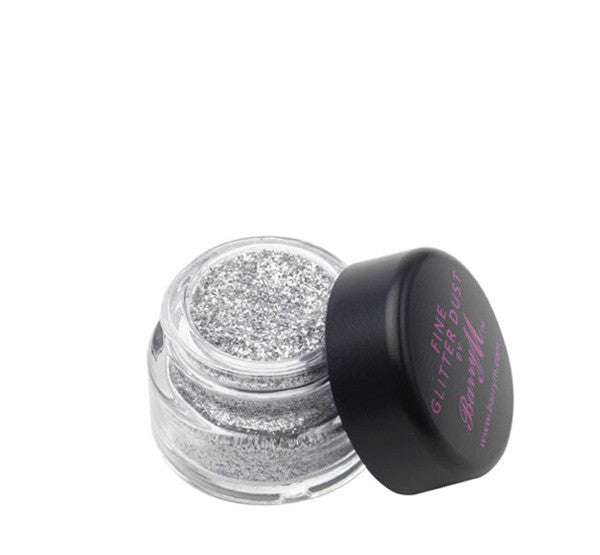 Silver Glitter by Barry M