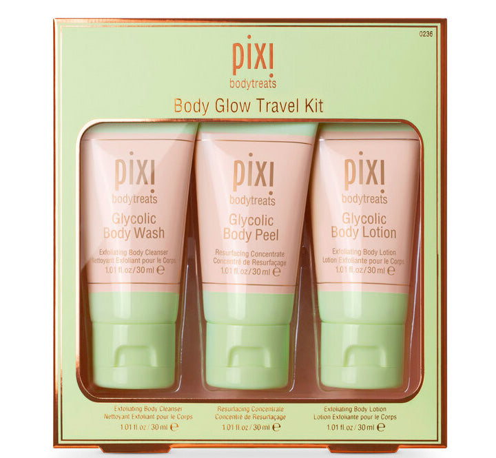 PIXI GLOW BODY TRAVEL KIT Glam Raider