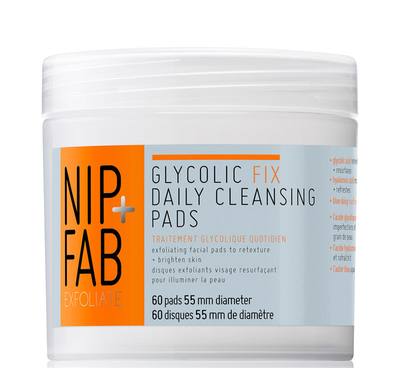 NIP + FAB GLYCOLIC FIX DAILY CLEANSING PADS Glam Raider