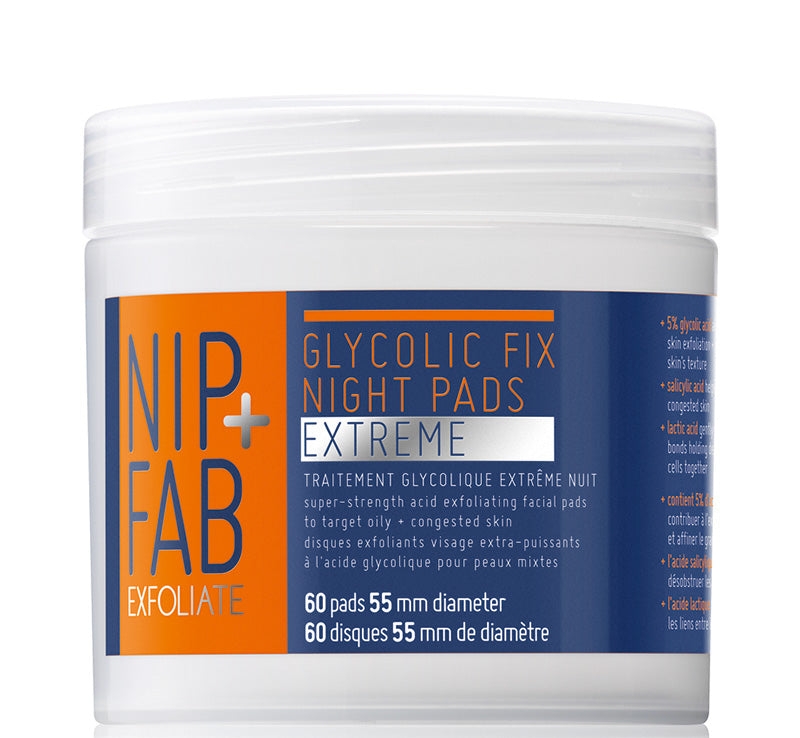 GLYCOLIC FIX NIGHT PADS EXTREME