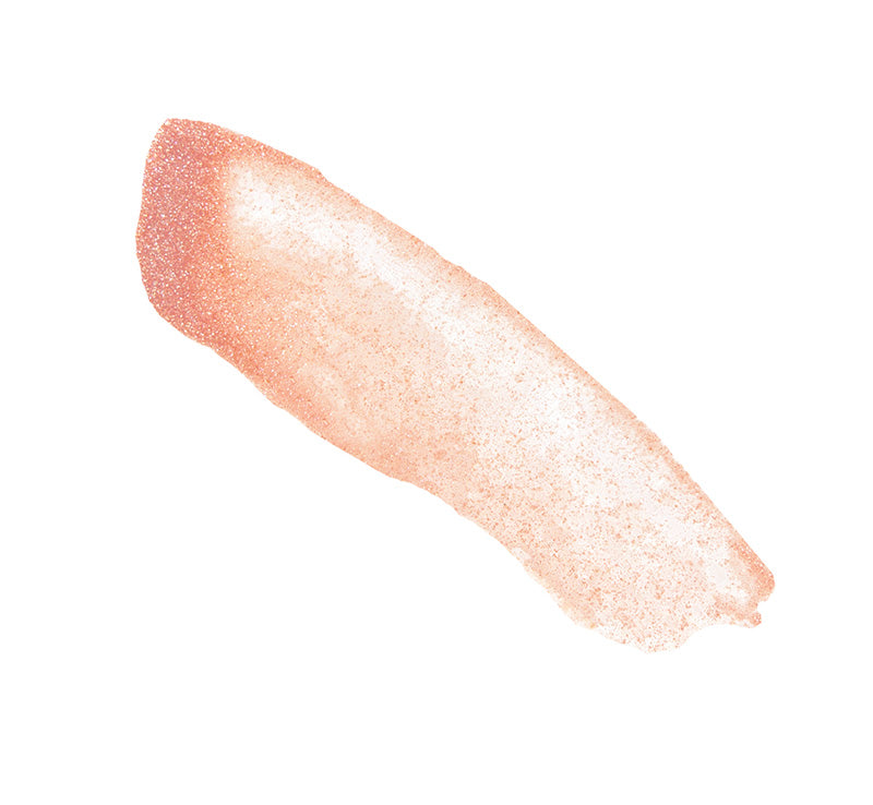 GLOSS OVER GLOSS - PEACH SHIMMER