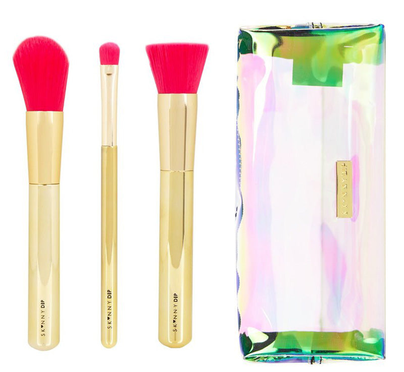 GOLD RUSH BAG & BRUSH SET