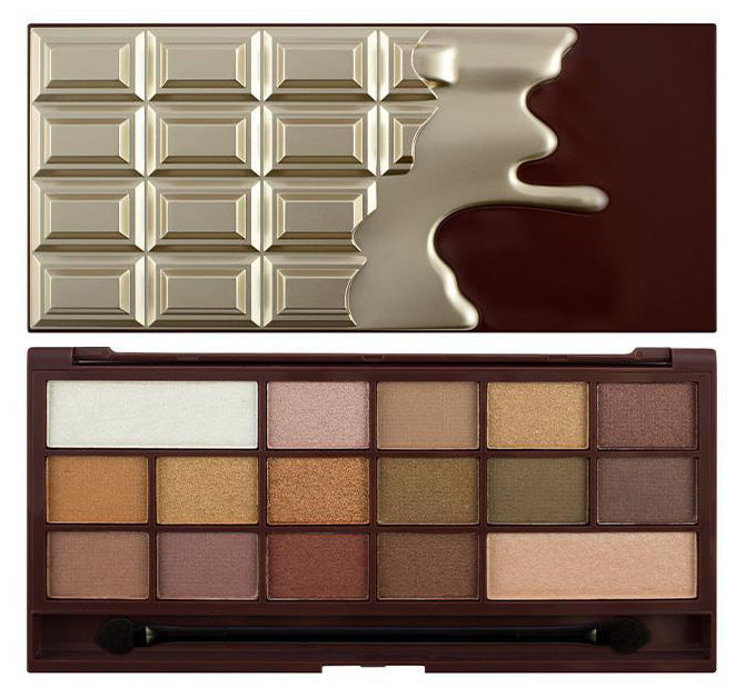 I HEART REVOLUTION GOLDEN BAR CHOCOLATE PALETTE Glam Raider