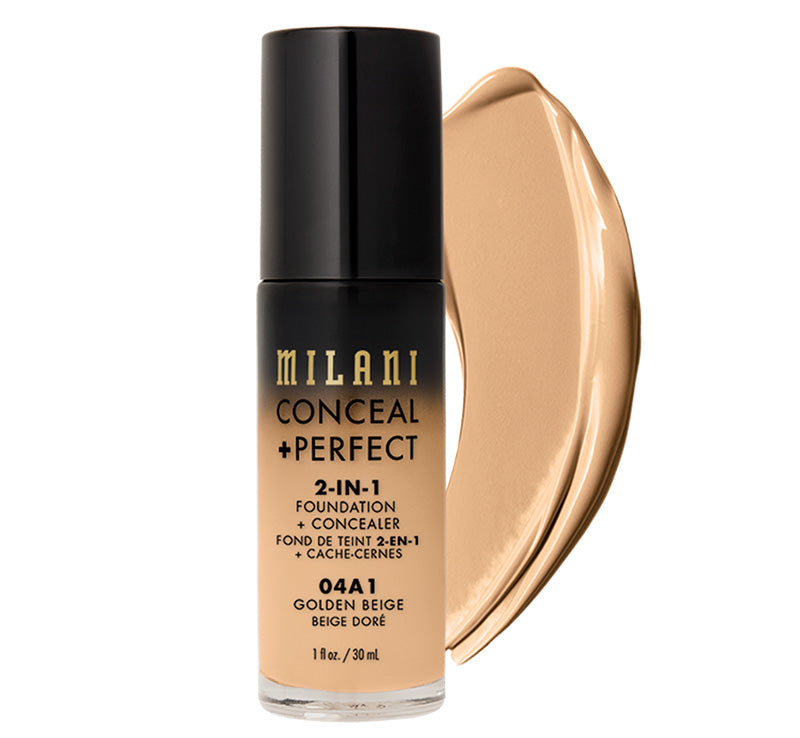 CONCEAL + PERFECT 2-IN-1 FOUNDATION - GOLDEN BEIGE