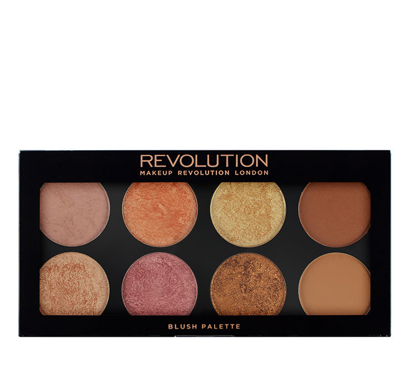 MAKEUP REVOLUTION GOLDEN SUGAR 2 - ULTRA BLUSH & BRONZER PALETTE Glam Raider