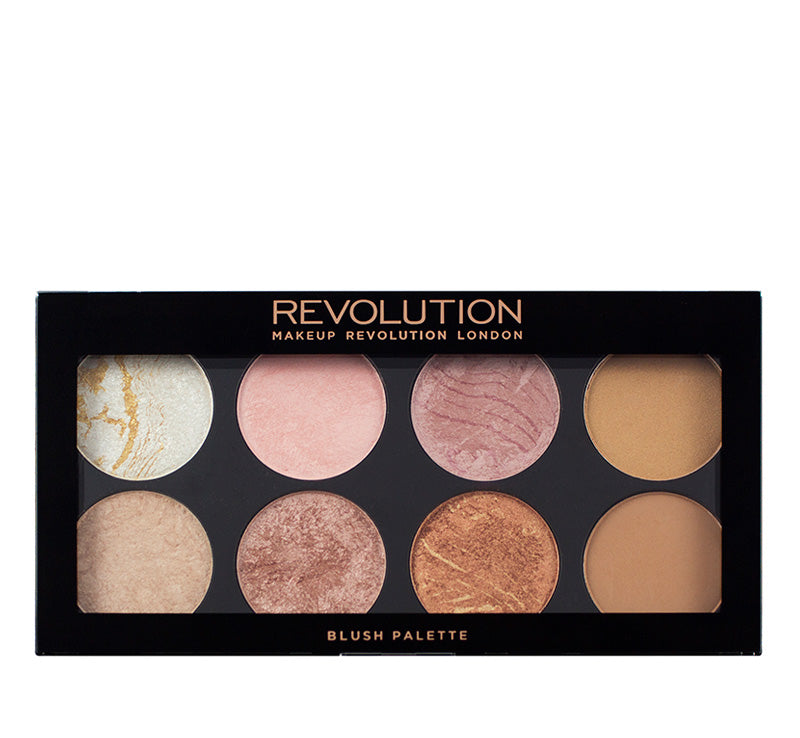 MAKEUP REVOLUTION GOLDEN SUGAR - ULTRA BLUSH & BRONZER PALETTE Glam Raider