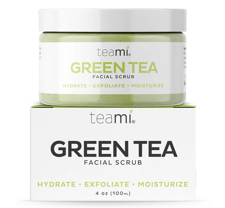 TEAMI GREEN TEA FACIAL SCRUB Glam Raider