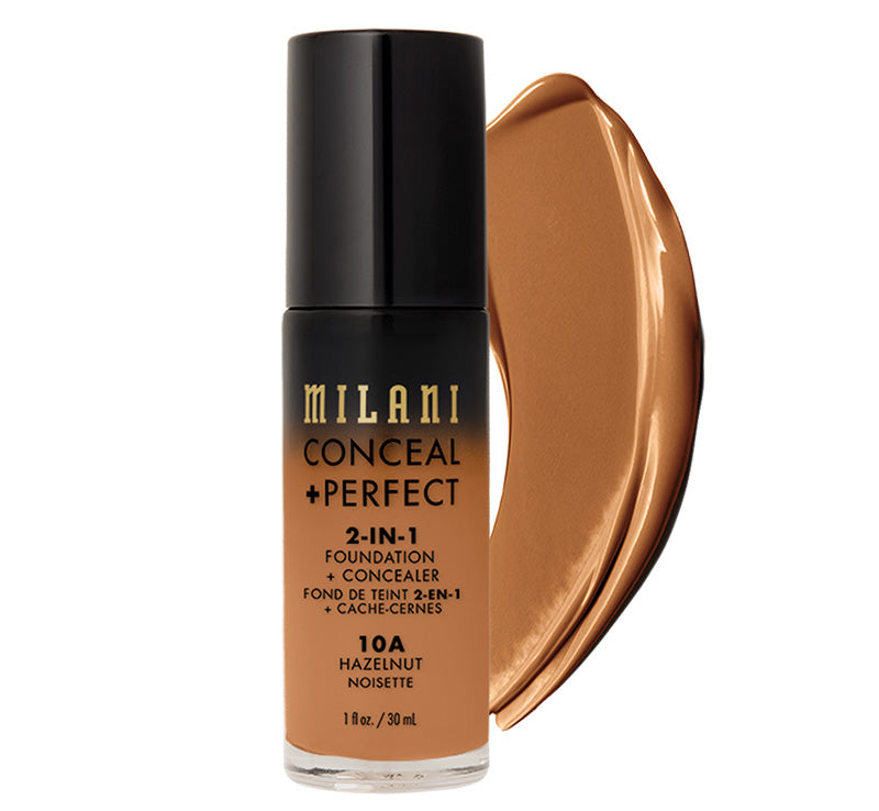 CONCEAL + PERFECT 2-IN-1 FOUNDATION - HAZELNUT