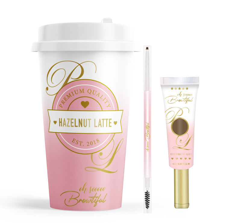 OH SO BROWTIFUL BROW GEL & PENCIL SET - HAZELNUT LATTE