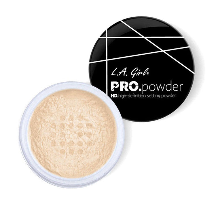 LA GIRL HD PRO SETTING BANANA POWDER Glam Raider