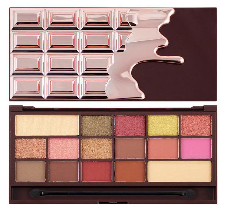 I HEART REVOLUTION ROSE GOLD CHOCOLATE PALETTE Glam Raider