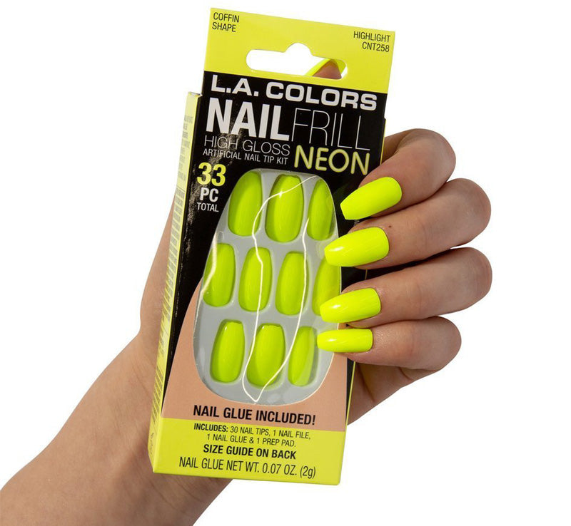 HIGHLIGHT NEON NAILS