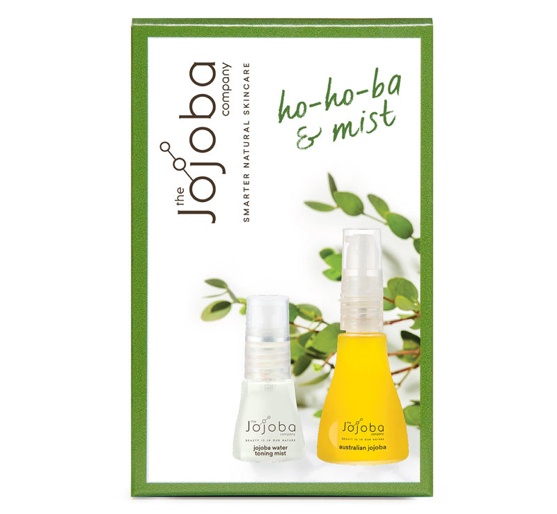 THE JOJOBA COMPANY HO-HO-BA & MIST GIFT SET Glam Raider
