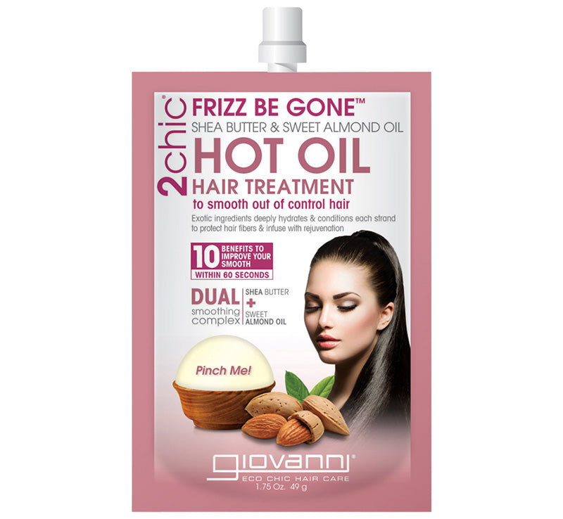 FRIZZ BE GONE™ HOT OIL HAIR TREATMENT