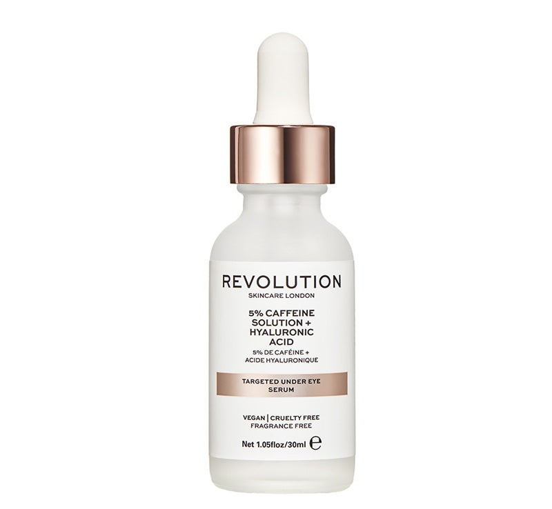 TARGETED UNDER EYE SERUM - 5% CAFFEINE + HYALURONIC ACID