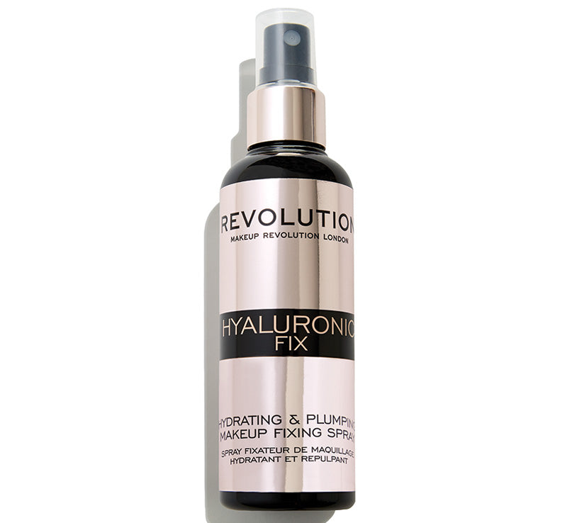 MAKEUP REVOLUTION HYALURONIC FIXING SPRAY Glam Raider
